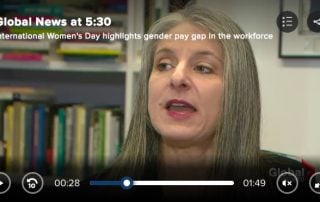Screenshot of Sarah Kaplan on Global News