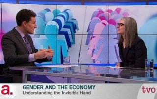 Steve Paikin and Sarah Kaplan on TVO