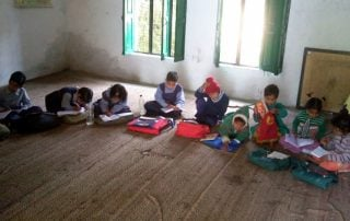 Children in an Orakhan school