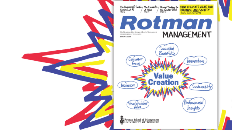 Cover of Rotman Magazine Fall 2018 issue