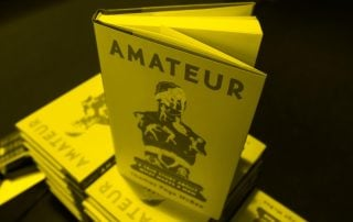 "Book ""Amateur"" by Thomas McBee"