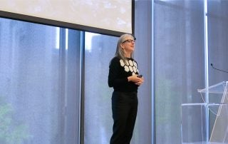 Sarah Kaplan speaking at Rotman