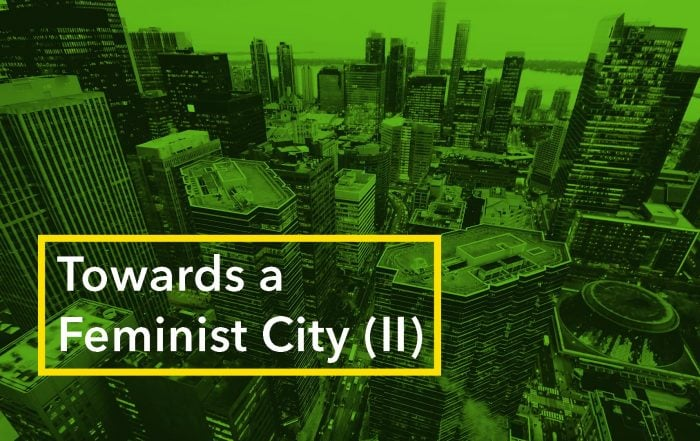 Feminist City 2, January 30th event banner