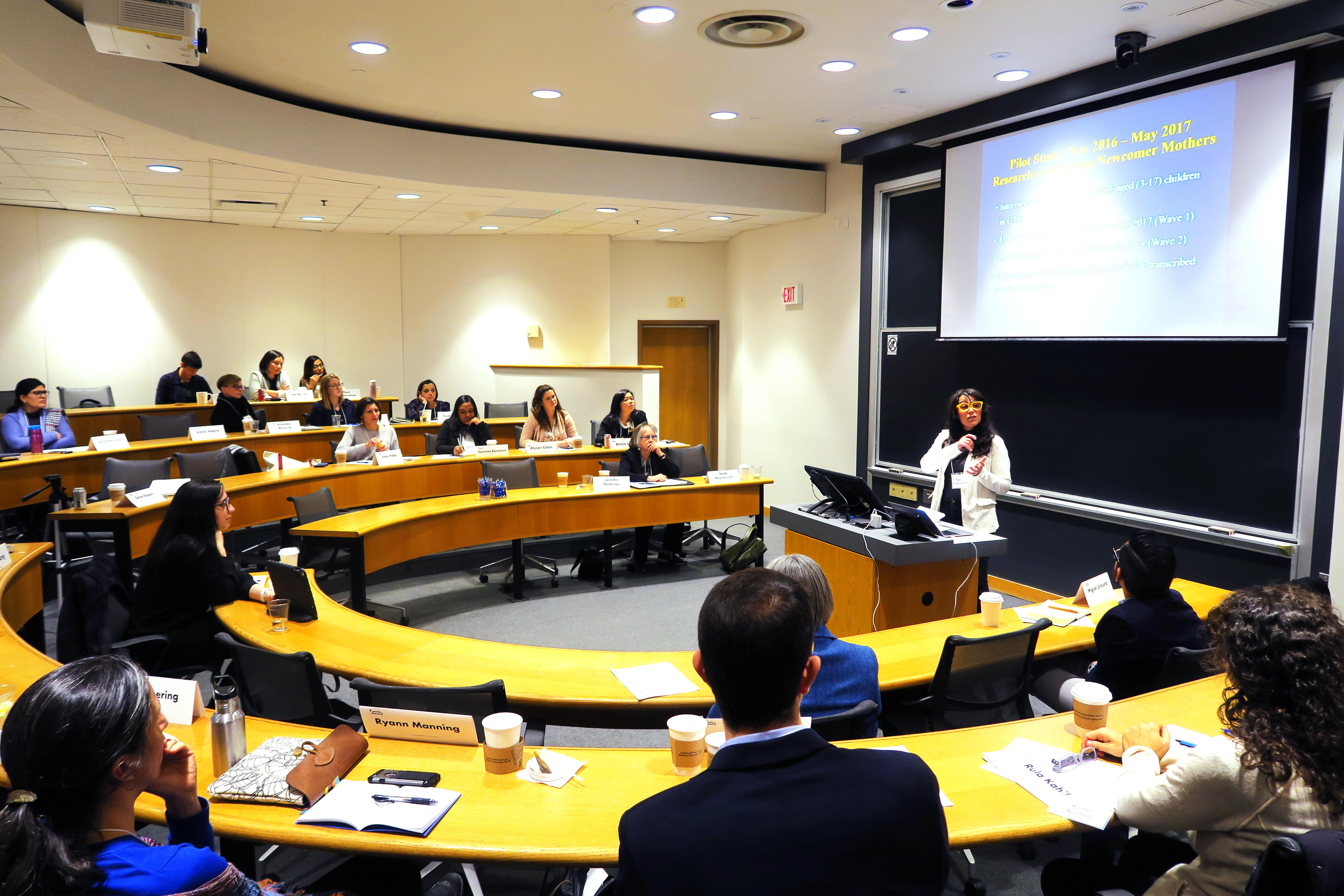 Neda Maghbouleh presents at GATE's 4th Annual Research Roundtable