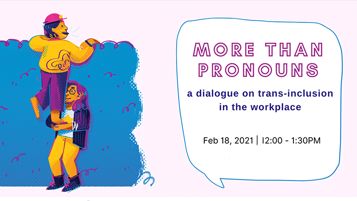 More than Pronouns event banner